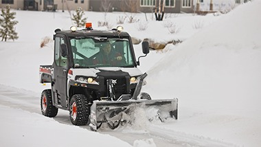 Snow Removal Attachments Bobcat Company